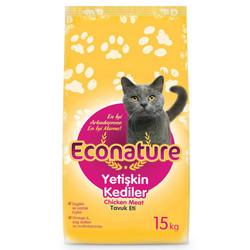 Econature - Econature Tavuklu Yetişkin Kedi Maması 15 Kg