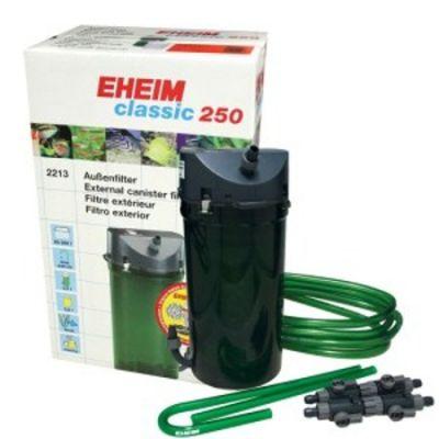 Eheim Classic 250 2213-02 Dış Filtre Musluklu 440 L/H