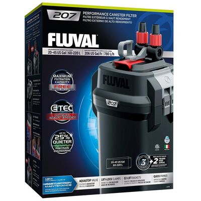 Fluval 207 Akvaryum Dış Filtre 780L/H Dolu