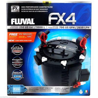 Fluval FX4 Akvaryum Dış Filtre 2650Lt/Saat