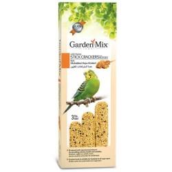 Garden Mix - Garden Mix Muhabbet Kuşu Krakeri Ballı 3 Adet