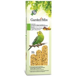 Garden Mix - Garden Mix Muhabbet Kuşu Krakeri Meyveli 3 Adet