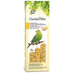Garden Mix - Garden Mix Muhabbet Kuşu Krakeri Muzlu Yumurtalı 3 Adet