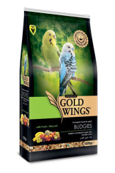 Gold Wings - Gold Wings Premium Muhabbet Kuşu Yemi 1 Kg