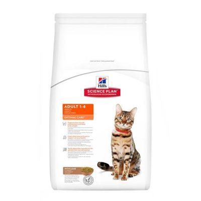 Hills Optimal Care Yetişkin Kuzu Etli Kuru Kedi Maması 5 KG