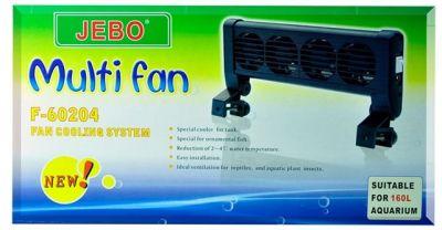 Jebo Akvaryum Soğutucu Fan 4 Lü
