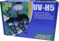 Jebo - Jebo UV-H5 Ultraviole 5 Watt Akvaryum Filtresi