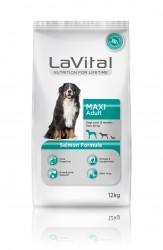 La Vital - La Vital Büyük Irk Somon Balıklı Köpek Maması 12Kg