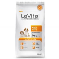 La Vital - La Vital Küçük Irk Yavru Kuzu Etli Köpek Maması 2KG