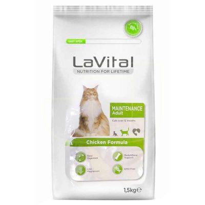 La Vital Maintenance Tavuklu Yetişkin Kedi Maması 1.5Kg