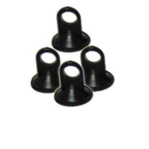 Meç Derece Vantuzu Siyah Şeffaf 50 Adet
