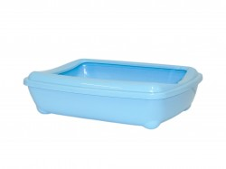 Moderna - Moderna Aristo Açık Kedi Tuvalet 42cm Mavi