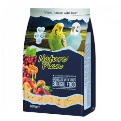 Nature Plan - Nature Plan Kabuksuz Muhabbet Kuşu Yemi 18x400 Gr.