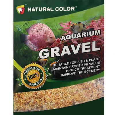 Naturel Color Açık Sarı Doğal Kum 2-4 mm 10 Kg
