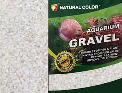 özelyem - Naturel Color Beyaz Quartz Akvaryum Kumu 2-4 mm 10 Kg