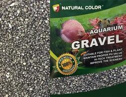 özelyem - Naturel Color Siyah Quartz Akvaryum Kumu 2-4 mm 10 Kg