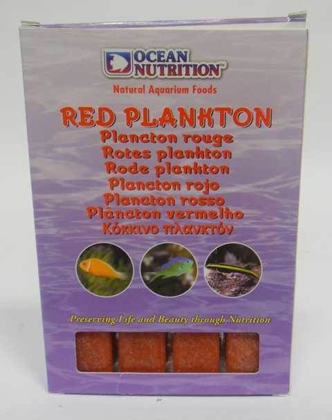 Ocean Nutrition Dondurulmuş Red Plankton 100 Gr Dondurulmuş Balık