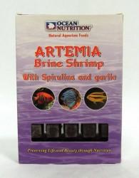 Ocean Nutrition - Ocean Nutrition Dondurulmuş Artemia-Garlic-Spirulina 100 Gr.