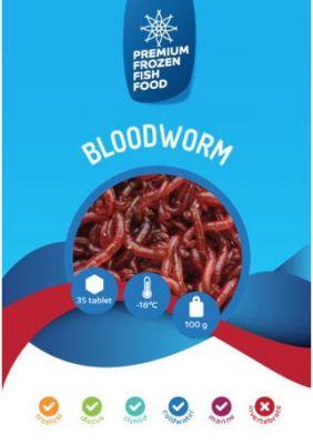Rdm Dondurulmuş Bloodworm Kan Kurdu 100 Gr 35 Ad