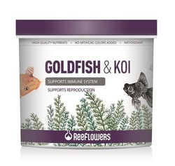 ReeFlowers - Reeflowers Goldfish Koi Granül Balık Yemi 150 ML