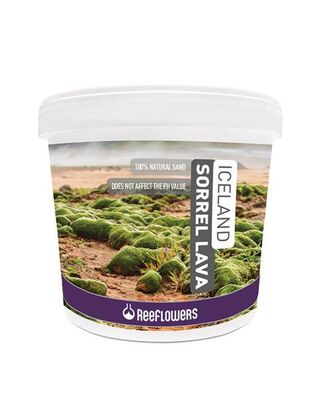 Reeflowers Iceland Sorrel Lava 1-3 mm 4 Kg