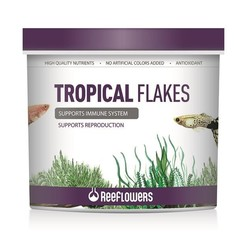 ReeFlowers - Reeflowers Tropical Flakes Pul Yem 100 Gram