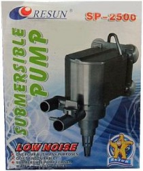 Resun - Resun Kafa Motoru SP2500 1400 Lt/S 18 Watt