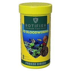 Rotifish - Rotifish BloodWorms Kurutulmuş Kan Kurdu 100 ML