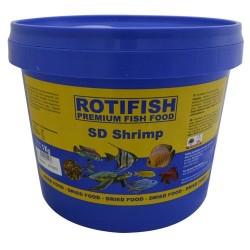 Rotifish - Rotifish SD Shrimp Kurutulmuş Karides 800 Gr. Kova