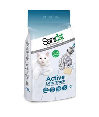 Sani Cat Aktif Oksijenli Kalın Taneli Doğal Kedi Kumu 10 Lt