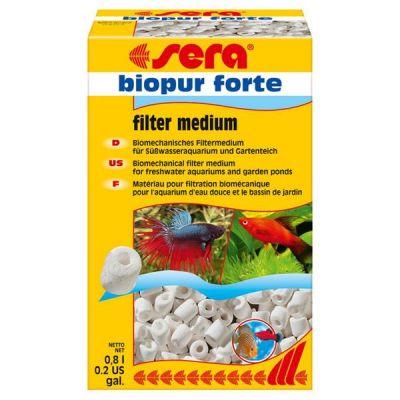 Sera Biopur Forte Filtre Malzemesi 0,8 Lt
