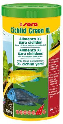 Sera Cichlid Green XL Granül Yem 1000 ML
