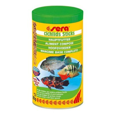 Sera Cichlids Sticks Balık Yemi 1000 ML