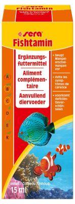 Sera Fishtamin Balık Vitamini 15 ML