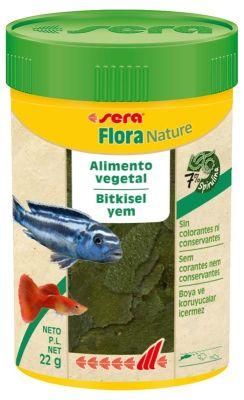 Sera Flora Nature Bitkisel Pul Balık Yemi 100 ML