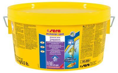 Sera Mineral Salt Akvaryum Tuzu 2500 Gr. Kova