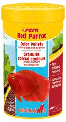 Sera - Sera Red Parrot Granül Papagan Yemi 250 ML