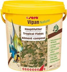 Sera - Sera Vipan Nature Pul Balık Yemi 21 Lt / 4000 Gr.