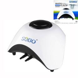 Sobo - Sobo SB-860A Akvaryum Hava Motoru Çift Çıkış