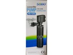 Sobo - Sobo FB-1202 Akvaryum İç Filtre 880 Lt/S