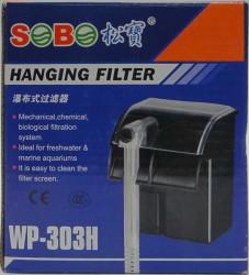 Sobo - Sobo WP-303H Akvaryum Şelale Filtresi 280L/S