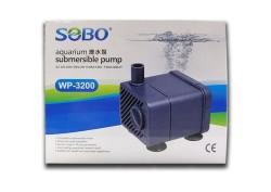 Sobo - Sobo WP-3200 Mini Akvaryum Kafa Motoru 300 Lt/S