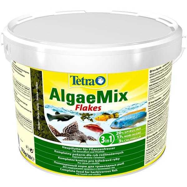 Tetra Algae Mix Pul Balık Yemi 100 Gram Chicled Yemleri, Tropheus Yemleri,  Vatoz ve Çöpcü Balığı Yemleri, Bitkisel Yemler, Pul Yemler Tetra