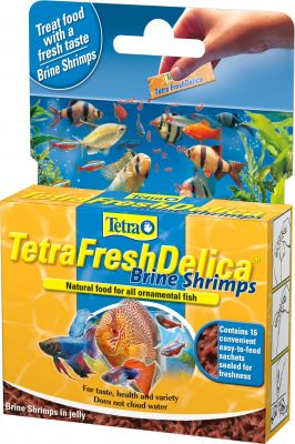 Tetra Fresh Delica Brine Shrimps Artemia 48 Gr.