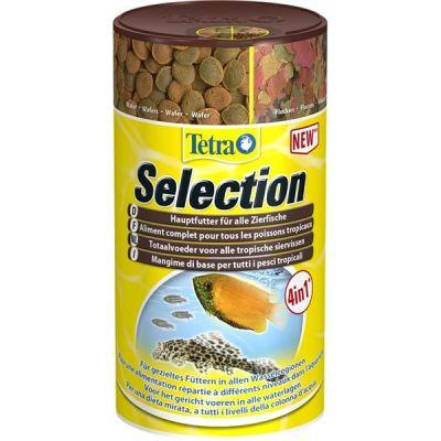 Tetra Selection 4 in 1 100 ML Balık Yemi