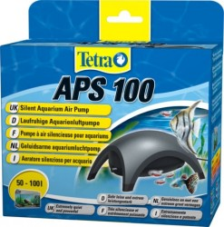 Tetra - Tetra Tec Aps 100 Siyah Hava Motoru Tek Çıkış