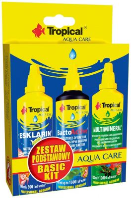 Tropical Basic Kit 3 Lü Set ESKLARIN+BACTO ACTIVE+MULTIMINERAL