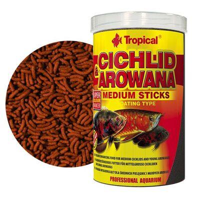 Tropical Cichlid Arowana Medium Sticks 250 ML