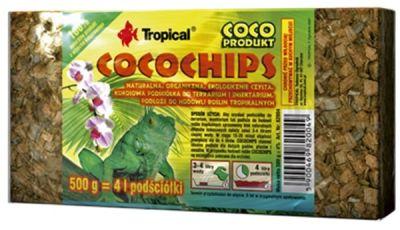 Tropical Cocochips Hindistan Cevizi Kabuğu