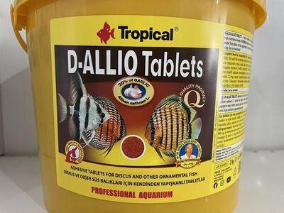 Tropical D-Allio Plus Sarımsaklı Tablet Yem 100 Adet